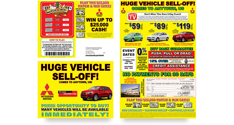 Service Chex Sales Mailer sample